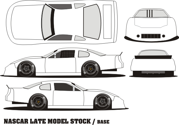 Pin asphalt late model race car graphics supercars on for Blank race car templates
